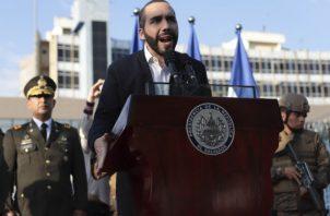 Los salvadoreños dicen que el presidente Bukele tiene tendencias autoritarias. Foto / Salvador Melendez/Associated Press.