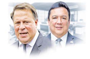 Juan Carlos Varela y Eduardo Ulloa.