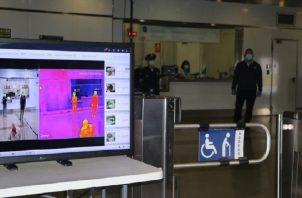 El Metro de Panamá, la Policía Nacional y el Aeropuerto de Tocumen cuentan con Cámaras Térmicas. Cortesía