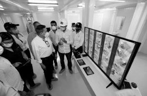 El Hospital Panamá Solidario se construyó en tiempo récord y en medio de la pandemia que aún no termina. Foto: EFE
