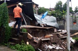 Las afectaciones se dieron en diversos puntos del país entre ellos la provincia de Panamá, Panamá oeste y Los Santos.