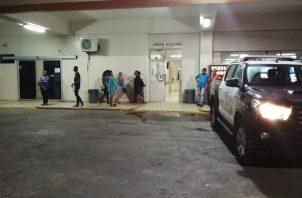 Todos los heridos fueron evacuados hacia el cuarto de urgencias del Hospital regional Nicolás Alejo Solano, confirmaron las autoridades a cargo de la investigación.