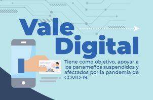 El segundo depósito del vale digital será el próximo 30 de mayo.