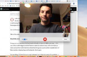 Adam Satariano, reportero de The New York Times, usó una app para vigilar sus hábitos de trabajo en casa.