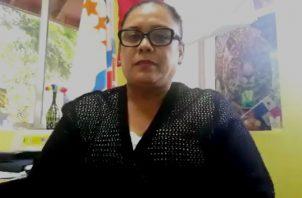 Carmen Aparicio, directora de Educación Ambiental habla del retorno a clases en medio de la pandemia.