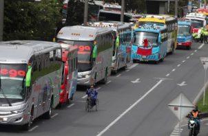 Los transportistas piden que se relaje las restricciones. AP
