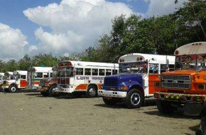 Solicitan que les ayuden con la sanitización de los buses, la distribución de las mascarillas y de gel alcoholado.