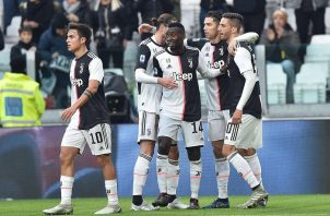 Juventus es el líder de la liga. Foto:AP