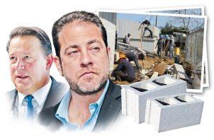 Juan Carlos Varela y Mario Etchelecu.