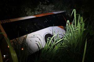 El accidente fue en la madrugada de este viernes. Foto: Diómedes Sánchez.