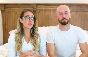 YouTube Myka Stauffer y su esposo James Stauffer. Foto: Youtube