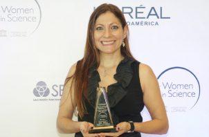 La Dra. Gina Della Togna, ganó el año pasado.  Cortesía