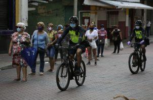 Panamá levantó cuarentena y aplicó toque de queda. Foto:archivos