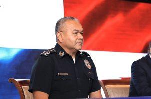 Jorge Miranda es el director de la Policía Nacional.