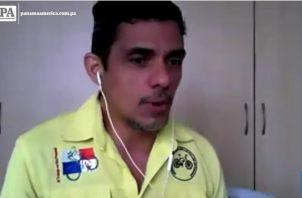 Juventino Quiroz, alcalde de la bicicleta en la ciudad de Panamá.