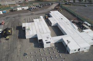 La construcción del hospital modular habría costado más de $6 millones y el equipo médico $4 millones.