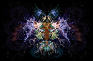 'Renacimiento violeta' de Frank Ferrer. Foto: Cortesía