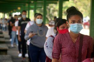 Panamá superó este jueves la barrera de los 15 mil pacientes contagiados de COVID-19. Foto Víctor Arosemena
