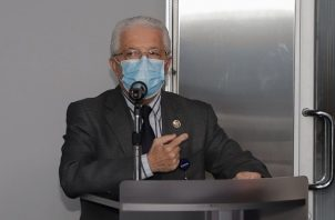 Juan Miguel Pascale durante su intervención en la Asamblea Nacional.