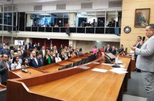 A pesar de tener mayoría, el Gobierno ha sostenido choques con la Asamblea.