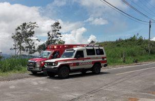 Según confirmó el  Cuerpo de Bomberos los equipos de rescate salieron a las 11:30 a.m y aún se mantiene en ruta al sitio, ubicado en el corregimiento de Cirí Grande al norte de la cabecera de Capira.