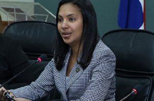 Delia De Castro, secretaria general del Ministerio Público. Archivo.