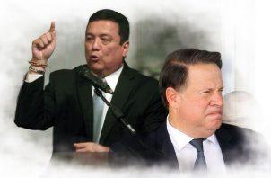 Eduardo Ulloa y Juan Carlos Varela.
