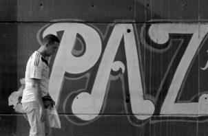 Vivir nosotros en paz y extenderla por todas partes. Transmitir paz con nuestras vidas. Foto: Archivo.