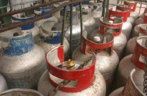 Un 90% de los hogares en el país utilizan el tanque de gas. Archivo