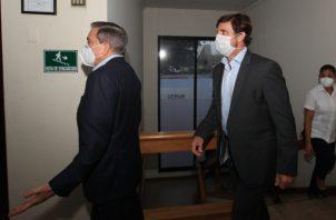 Laurentino Cortizo, presidente de Panamá y Federico Brizky, CEO y gerente general de Grupo Epasa. Víctor Arosemena