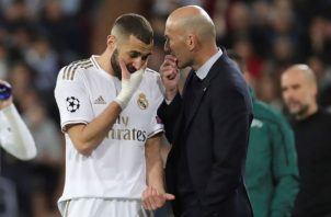 Benzema y Zidane.