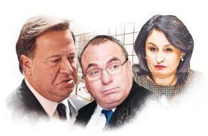 Juan Carlos Varela, Rolando López y Kenia Porcell, querellados por cuatro delitos.