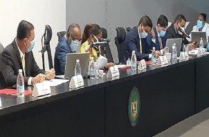 Analizan veto parcial a proyecto de ley sobre moratoria. Foto Víctor Arosemena