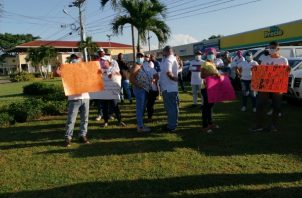Durante los últimos ocho días, las protestas por falta de agua potable se han estado suscitando en distintos corregimientos de este distrito.