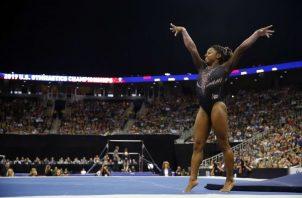 Simone Biles. Foto.AP
