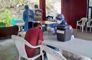 El Minsa sigue realizando pruebas en las comunidades con más casos.