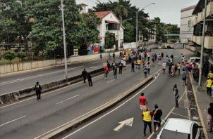Piden bono solidario tras tres meses de cuarentena. (Foto: Tráfico Panamá)