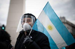 Argentina atraviesa desde hace dos años una recesión. EFE