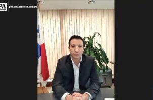 Gean Marc Córdoba, gerente del Banco Hipotecario Nacional.