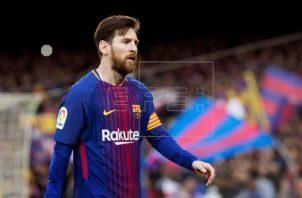 Messi. Foto: EFE