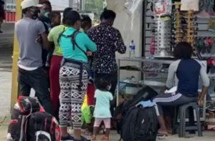 La Policía Especial de Migración de Costa Rica rechazó su ingreso. Fotos: Mayra Madrid.