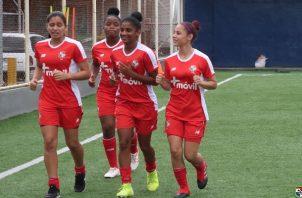 Jugadoras del equipo Sub-20. Foto:Fepafut