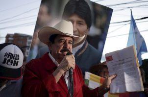 El expresidente de Honduras Manuel Zelaya. EFE/Gustavo Amador/Archivo