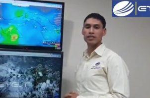 Se prevé para el territorio nacional tormentas de moderadas a fuertes para el área de Azuero de igual manera la provincia de Colón, parte de la provincia de Panamá y de Chiriquí.