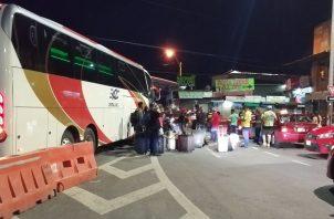 Este es el único procedimiento de tránsito de personas nicaragüenses que será permitido.