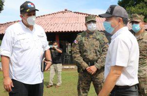 Las declaraciones del actual gobernador se dieron en medio de la presentación de un informe del trabajo realizado en la provincia de Chiriquí con el programa Panamá Solidario.