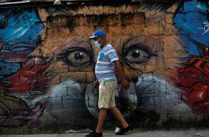 Panamá registró el 29 de junio 1.099 casos de COVID-19, cifra récord en un día. Foto EFE