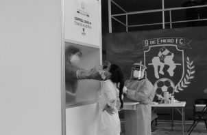 Los equipos de salud regionales, manejan con un serio compromiso ético cada caso COVID-19, y el equipo de respuesta rápida que sale diariamente a tomar muestras de hisopados. Foto: Cortesía.