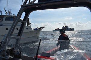 En junio pasado la Guardia Costera decomisó más de 3 toneladas de cocaína durante dos operaciones conjuntas con las autoridades de Colombia y Honduras en aguas del mar Caribe.