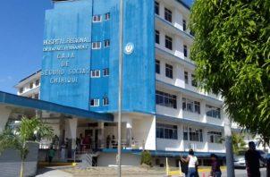 La entrada a la sala donde laboran las enfermeras está restringida por medidas de bioseguridad. Foto: José Vásquez.